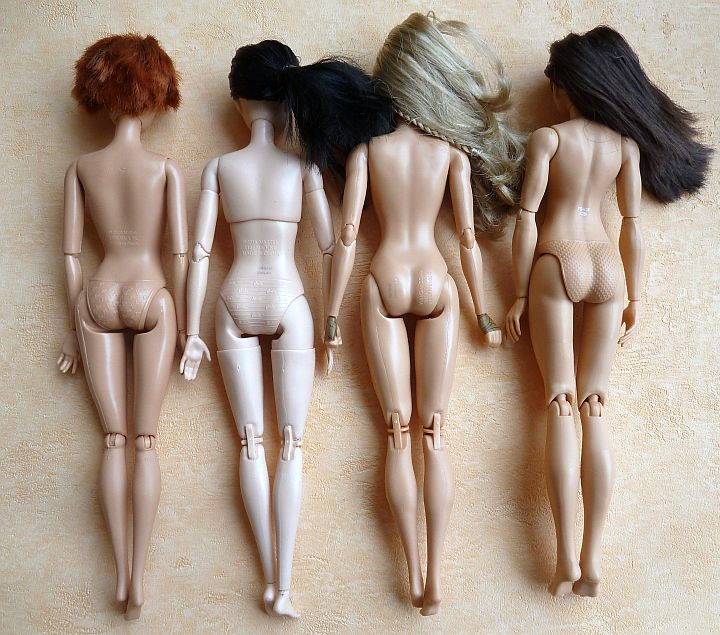 Articulated Barbie Bodys (2)