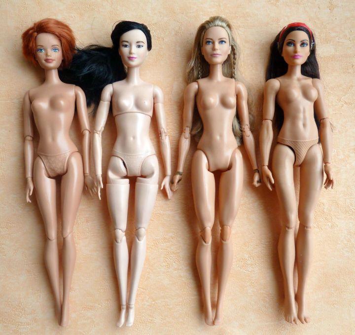 Articulated Barbie Bodys