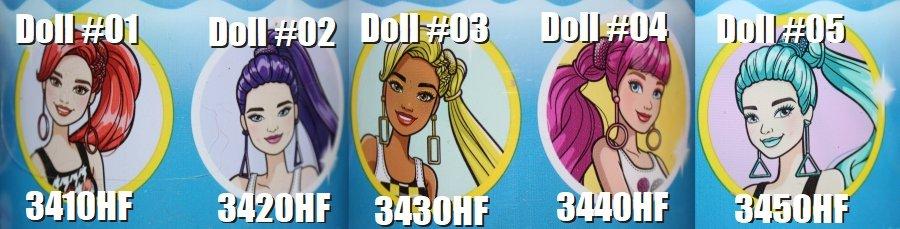 Barbie Color Reveal Wave 6
