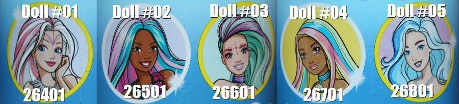Color Reveal Wave 4 Mermaids