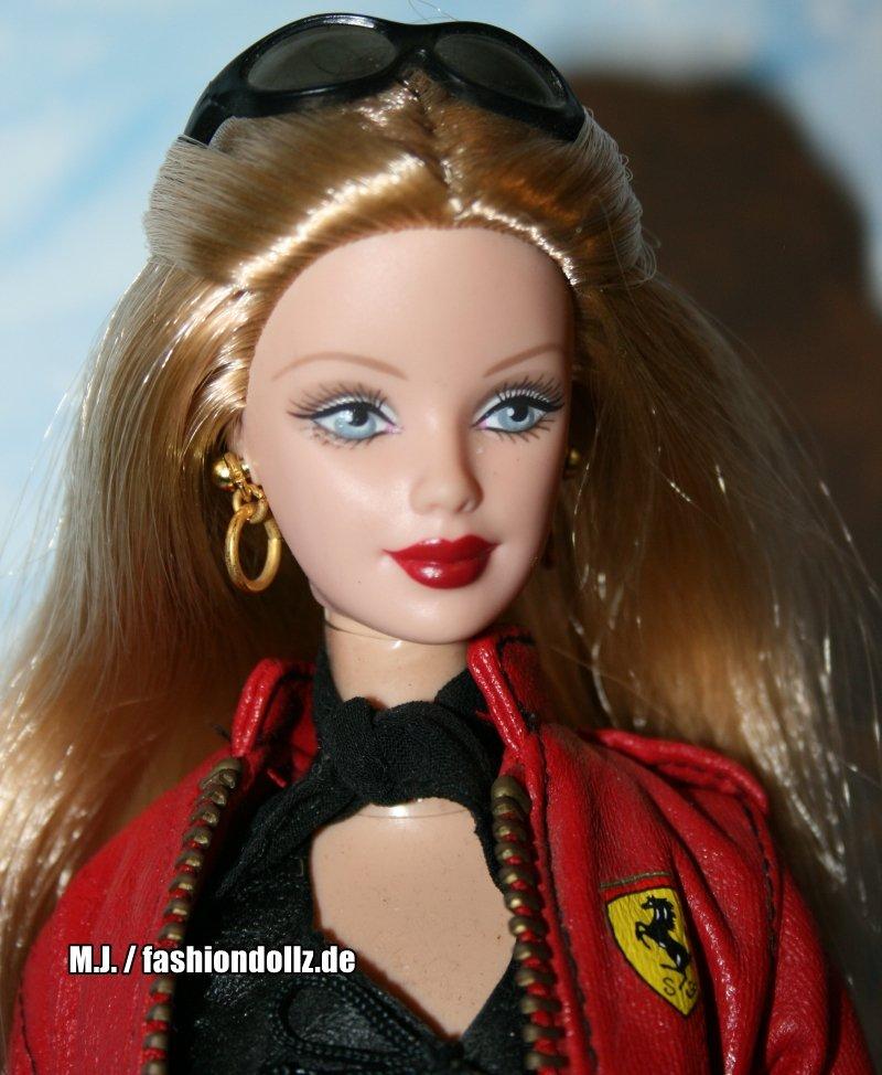 2001 Ferrari Barbie No 2 28534 Fashiondollz Info