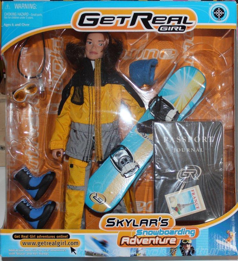 Get Real Girl Skylars Snowboarding Adventure (1)