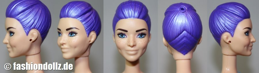 Headmold Color Reveal Dimples