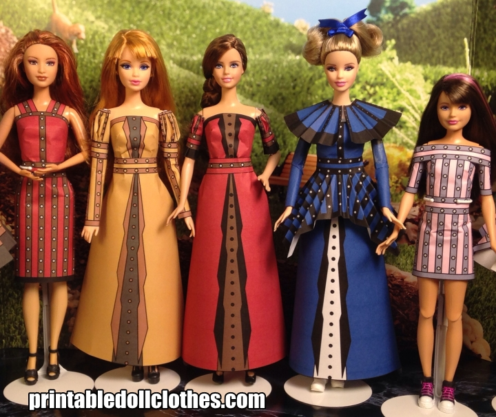Printable Doll Clothes (3)