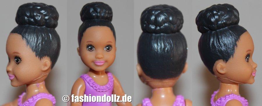 2016 Headmold Toddler Girl with Top Bun