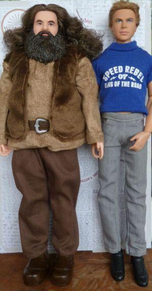12 Hagrid Ken Größenvegleich