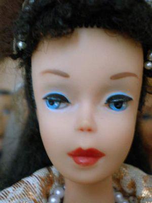 1960 Ponytail Barbie No. 4, bunette #850