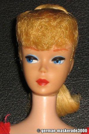 1961 Ponytail Barbie No. 5, blonde #850