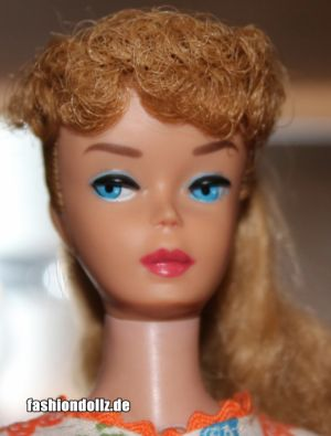 1962 Ponytail Barbie No. 6, ashblonde #850