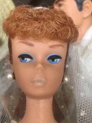 1962 Ponytail Barbie No. 6, titian #850