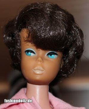 1965 Sidepart Bubble Cut brunette