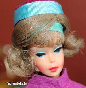 1966 Sidepart American Girl, Pink Skin #1070