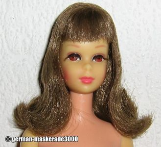 1966 Francie bendable legs brunette #1130