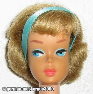 1966 Sidepart American  Girl, blonde #1070
