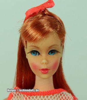 1967  Twist 'n Turn Barbie Doll, titian / redhead  #1160 1. Edition