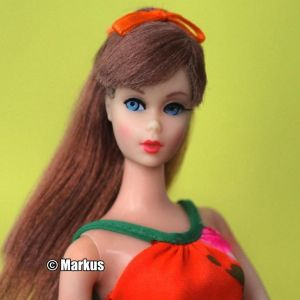 1967  Twist 'n Turn Barbie, oxidized #1160