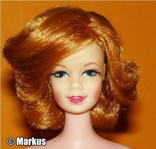 1969-70 Twist'n Turn Stacey red hair #1165 (2)