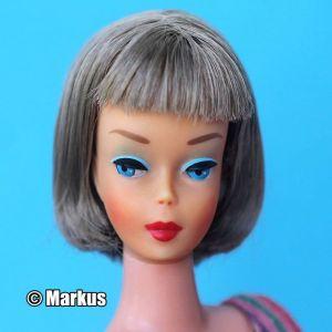 1971 American Girl, brunette - European Pink Vinyl