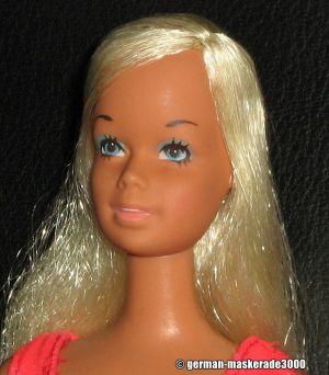 1975 Malibu Barbie, platinum hair Korea