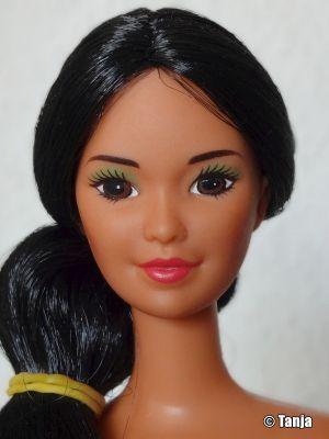 1986 Tropical Miko - Beautiful Island Friend of Barbie #2056