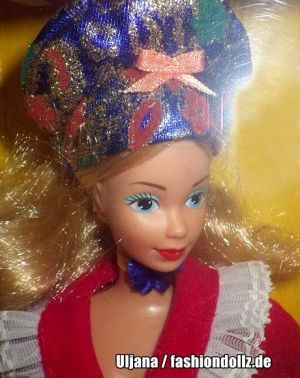 1987 Dolls of the World - German Barbie #3188