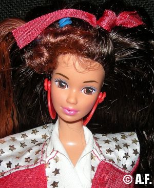 1990 Barbie and the All Stars - Tennis star Teresa  #9353