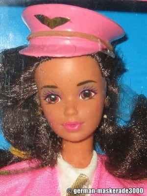 1990 Flight Time Barbie, Hispanic #2066