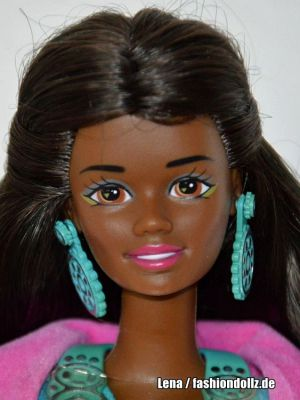 1990 Western Fun / Suncharm Barbie AA #9930