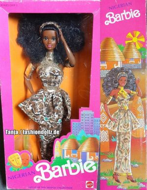 1990 Dolls of the World - Nigerian Barbie #7376