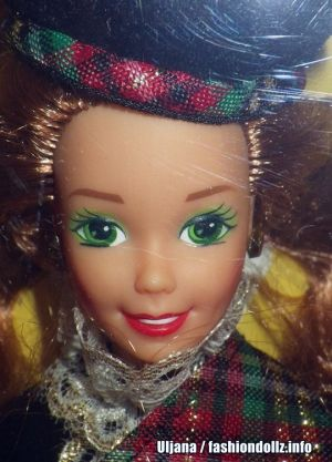 1991 Dolls of the World - Scottish Barbie 2nd Edition #9845
