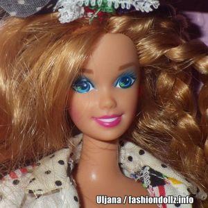 1992 Teen Talk Barbie, titian - black hat #5745