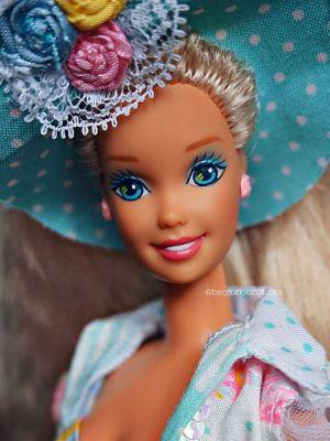 1992 Teen Talk Barbie, blonde - turquoise hat / Ich spreche mit dir