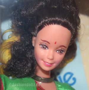1993 Barbie in India, Leo Mattel #9910