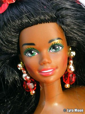 1993 Happy Holidays Barbie AA #10911