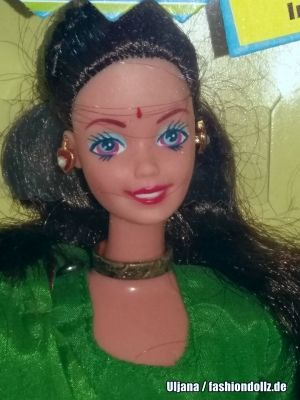 1993 Barbie in India #9910, Leo Mattel