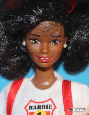 1995 Fire Fighter Barbie AA #13472