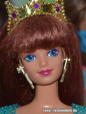 1996 Barbie Jewel Hair Mermaid Midge #14589