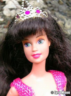 1996 Jewel Hair Mermaid / Märchen Haar Barbie Teresa #14588