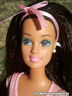 1996 My First Tea Party Barbie, brunette #14875