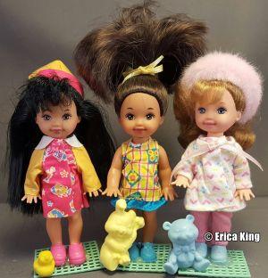 1997 Li'l Friends of Kelly - Jenny, Marisa & Melody