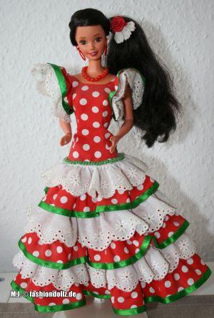 1996 Andalucia Barbie #15758