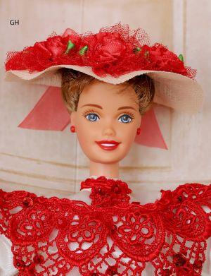 1996 Coca-Cola Barbie - Soda Fountain Sweetheart #15762