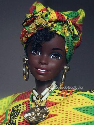 1996 Dolls of the World - Ghanaian Barbie #15303