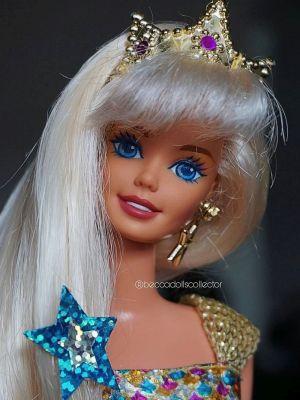 1996 Jewel Hair Mermaid / Märchen Haar Barbie #14564