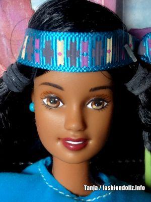 1997 American Stories - American Indian Barbie 2nd Ed. & Sister Little Cloud #17313