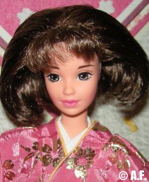 1997 Japanese Happy New Year Oshogatsu Barbie 2.Edition #16093