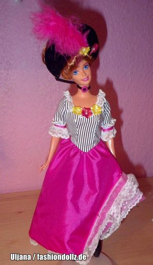1997 Dolls of the World - French Barbie #16499