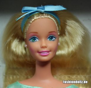 1998 Spring Tea Party Barbie, blonde #18656 Avon Special Edition