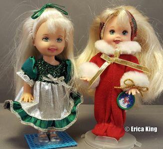 1998 & 2000 Christmas Sister Sets Kelly