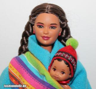 1999 Dolls of the World - Peruvian Barbie #21506